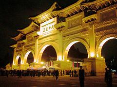 2004年4月晚上的中正紀念堂