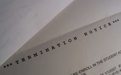 Termination Notice Letter