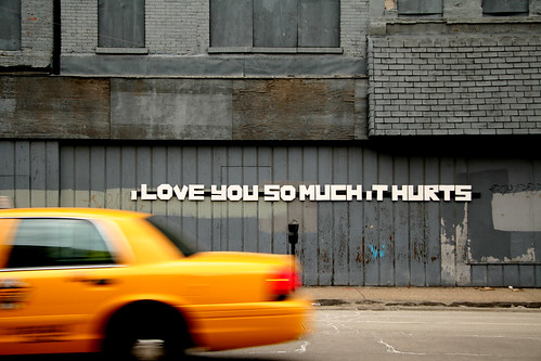 I Love You So Much It Hurts - foto: Señor Codo, flickr