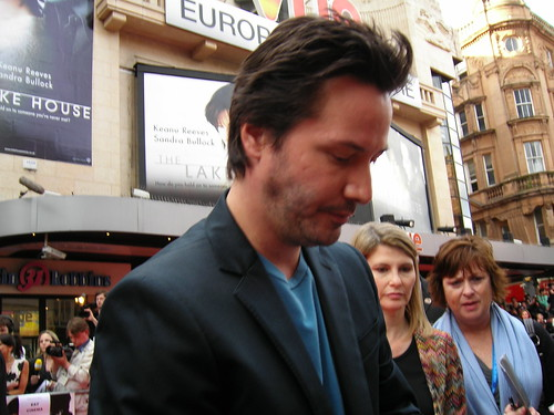 Lake House Premiere, London, 19 June 2006