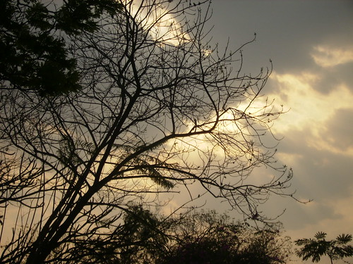 Sunset at Hyderabad