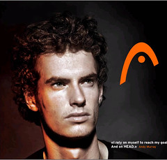 andy murray - head