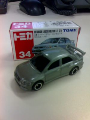Mitsubishi Evolution VII GT-A