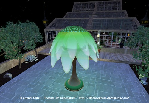 FlowerTree Light Lawn Ornament 016