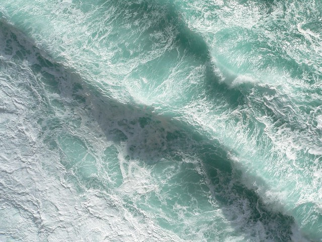 Atlantic Ocean, Ireland, Dún Aengus (Inishmore island)
