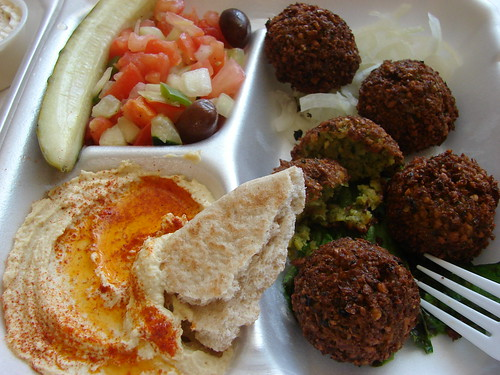Falafel meal by IronStef.