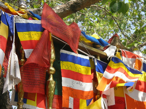 Prayer flags at Sarnath