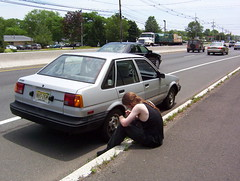 Broke Down Car