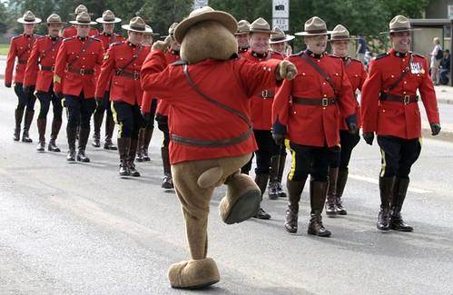Canada Day PArade 2005 - courtesy of Michael Hallca