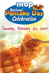 IHOP's National Pancake Day promo
