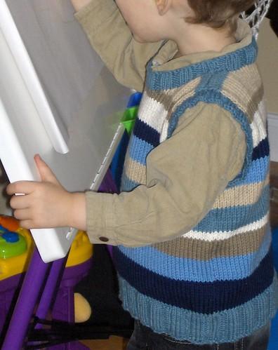 Tank Top - Sleeveless Sweater
