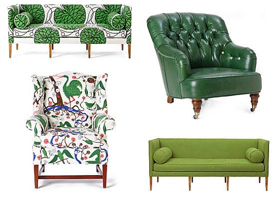 Fresh Green Furnishings