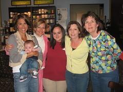 Kristin M., Margo, Me, Sandra, and Mechelle