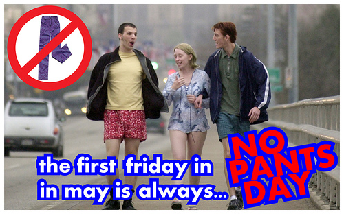 No Pants Day