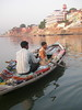 Boat vendors, Varanasi