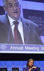 Mahmoud Abbas, Tzipi Livni - World Economic Fo...