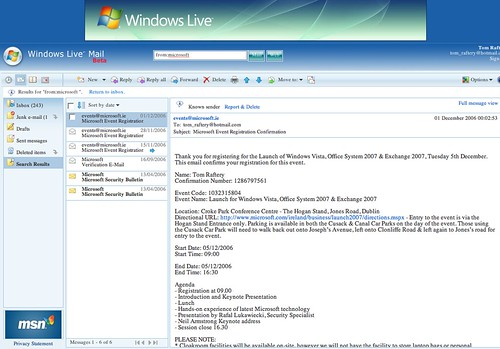Windows Live (Hot)Mail