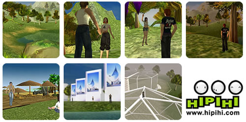 Hipihi: China's Second Life clone... or is it?