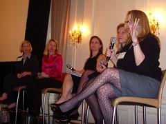 Lisa Stone, Marissa Mayer, Debi Fine, Caroline...