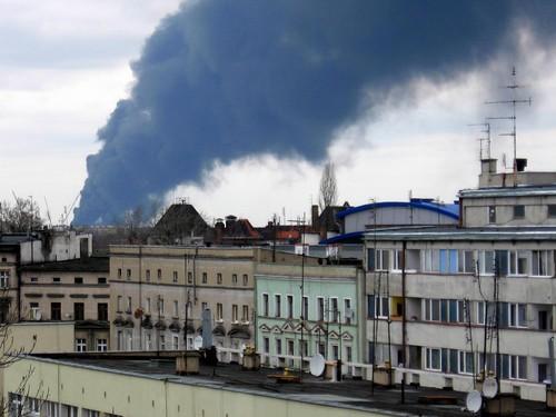 Pożar na Maślicach (II)
