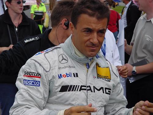 Jean Alesi grid Nürburging DTM race 2002