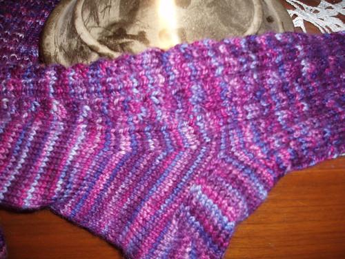 BFF sock closeup