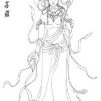 臨摹8_觀世音菩薩(Bodhisattva)