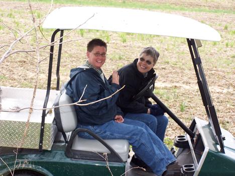 Debra & Aunt Janie