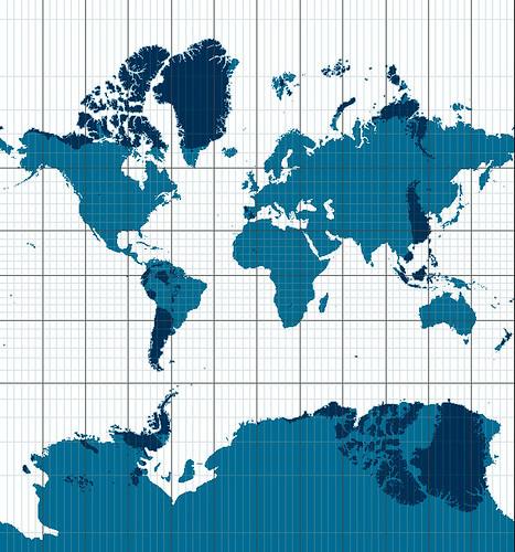Mapa antípodas