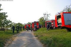 Strohhaufenbrand Kloppenheim 29.04.07