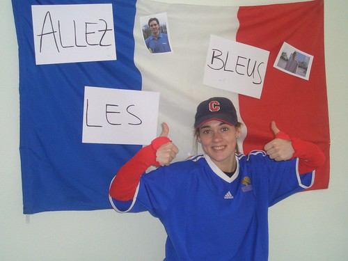 Anne - supportrice francaise