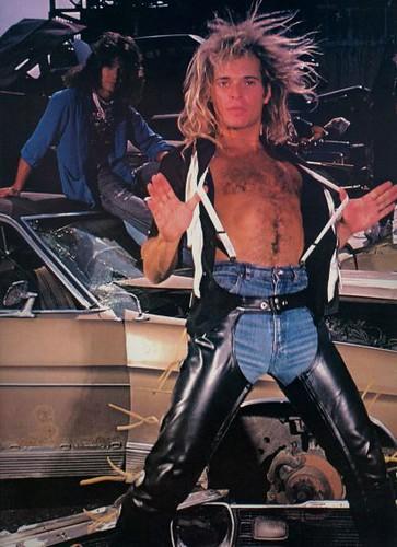Diamond dave y Eddie Van Halen