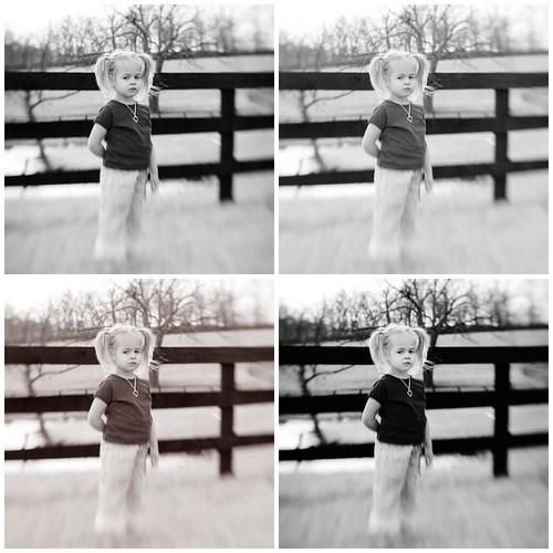 Nichole Van Actions - Black & White