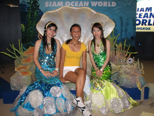 2 so-so mermaids and a prettier pinay