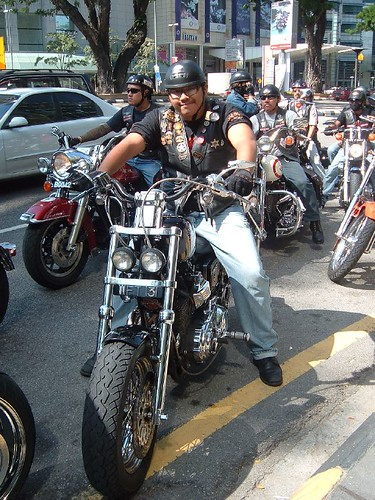 Cool Biker... Guess his Age?