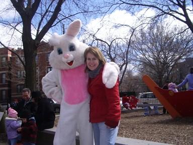 Easter Bunny & Sheila