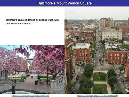 Baltimore's Mount Vernon Square