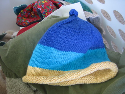 This hat is not finished