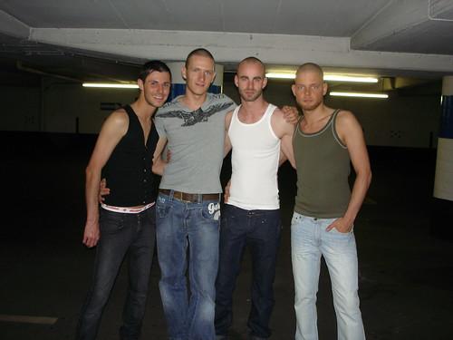 Benny, Ik, Andy en Tom