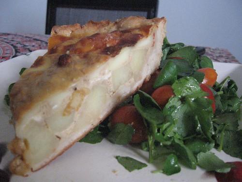 onion soup-potato quiche