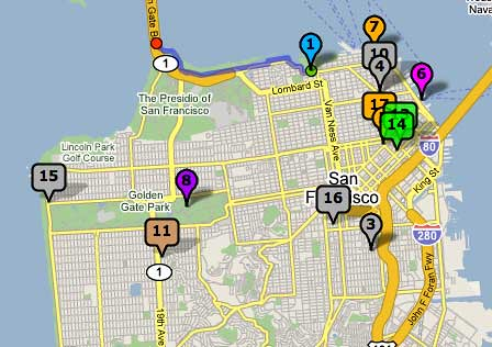 SF Map from Community Walk