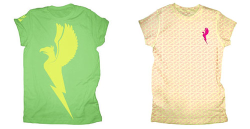 Public Domain Spring 2007 womens_logo_tees_green