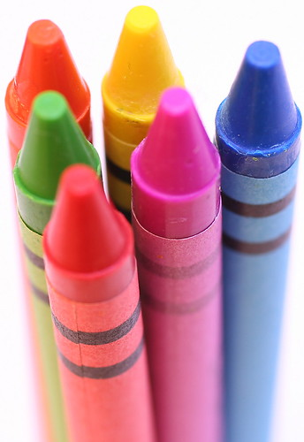 Crayon Pyramid by very little dave.