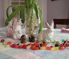 Easter Table Day After