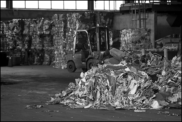 Happy Earth Day from the recycling center