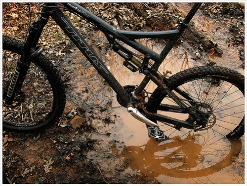 riding The American Standard: the mud