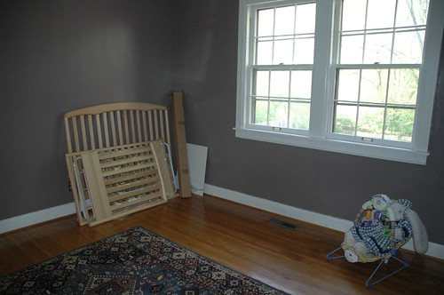 Nursery (New Crib to Be Assembled)