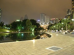 46.KLCC的夜景