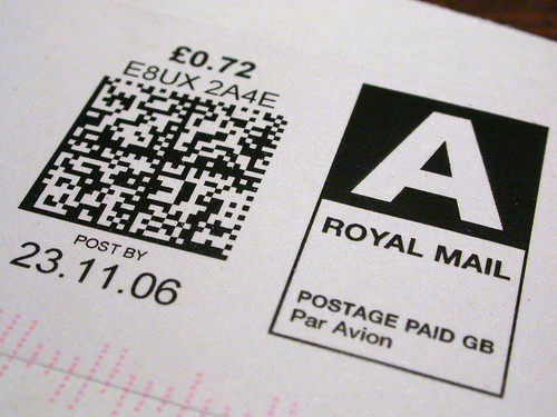 Royal Mail 耶
