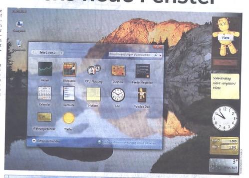vista screenshot kurier